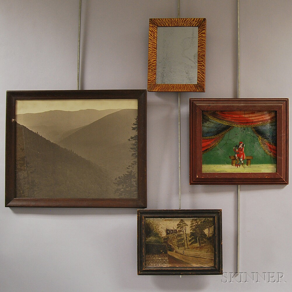 Four Framed Items