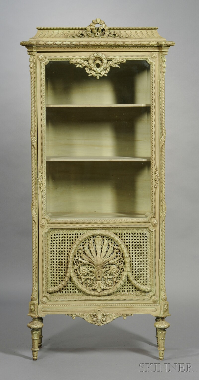 Louis XVII-style Display Cabinet