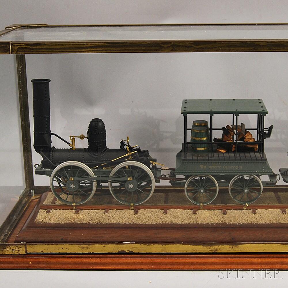 Live Steam Model of the DeWitt Clinton Train