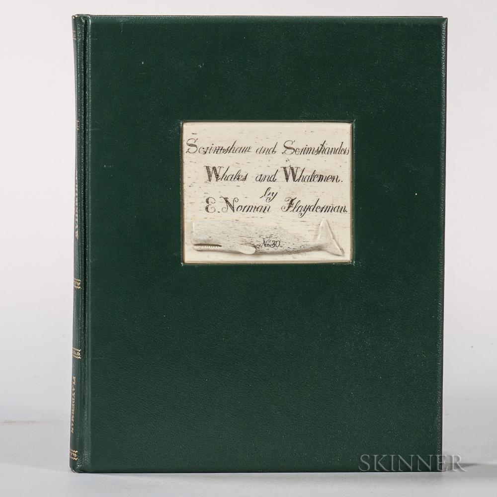 Flayderman, E. Norman (1928-2013) Scrimshaw and Scrimshanders, Whales and Whalemen.