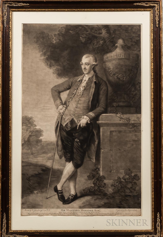 European School, 18th Century      Seven Framed Prints of Noblemen and Scholars.