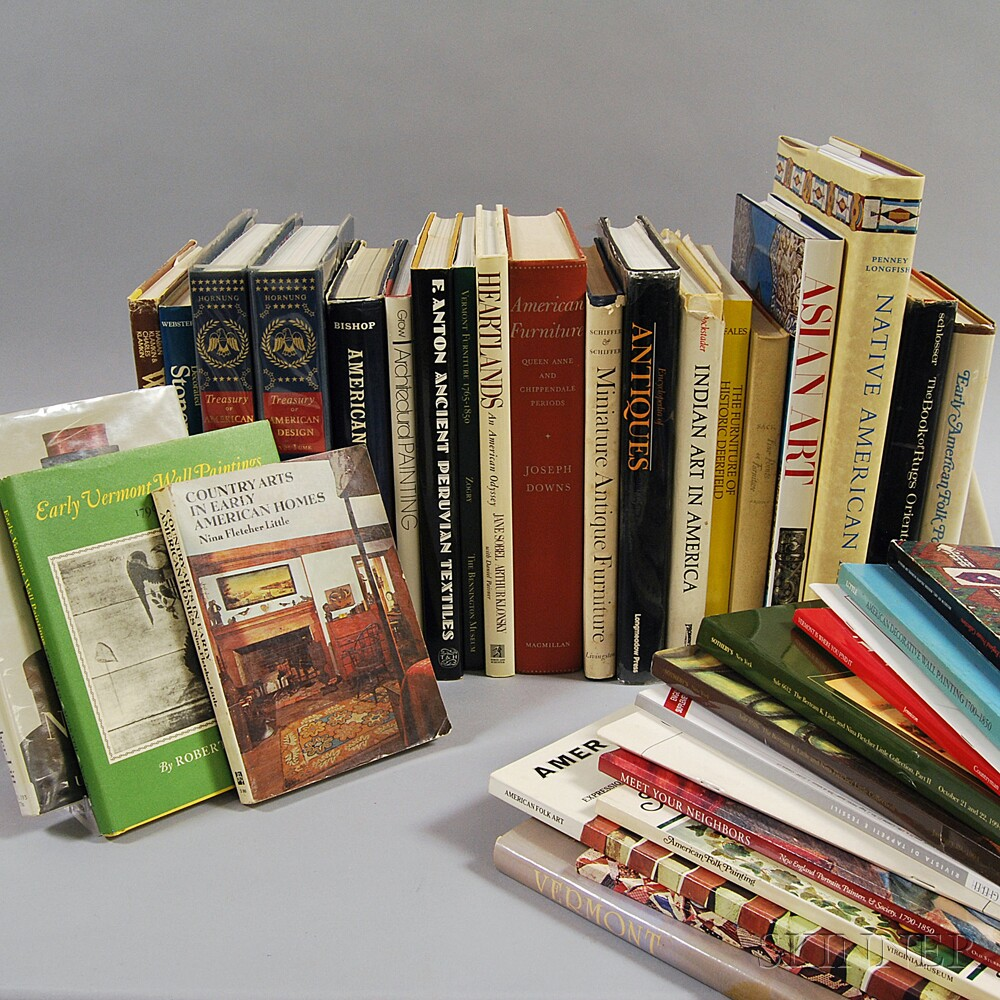 Group of Antiques Reference Books