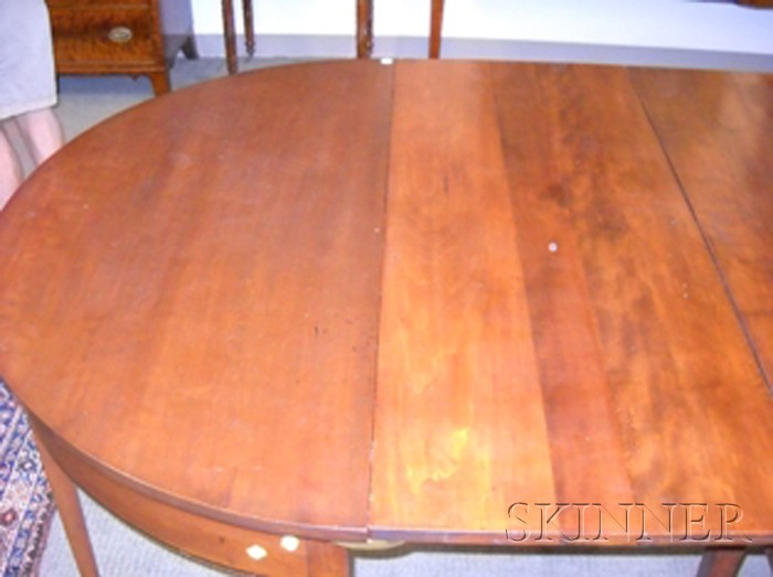 Federal Inlaid Cherry Banquet Table