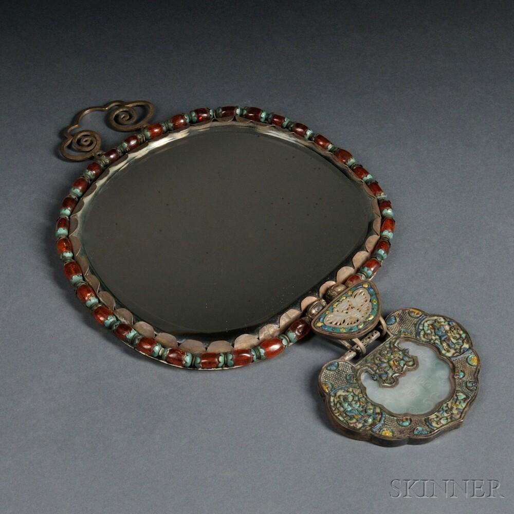Silverwork Mirror