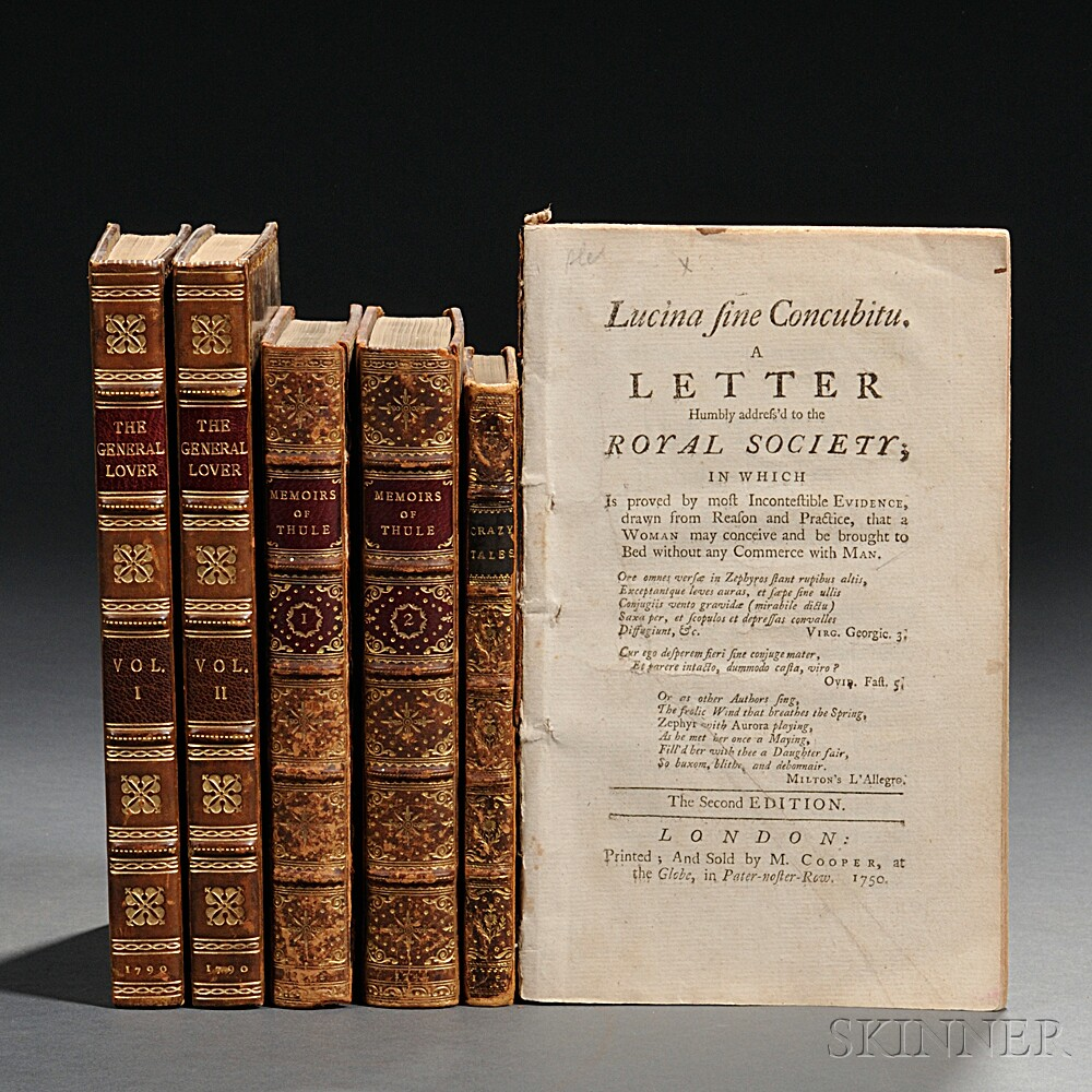 English Letters, Erotica, Six Volumes.