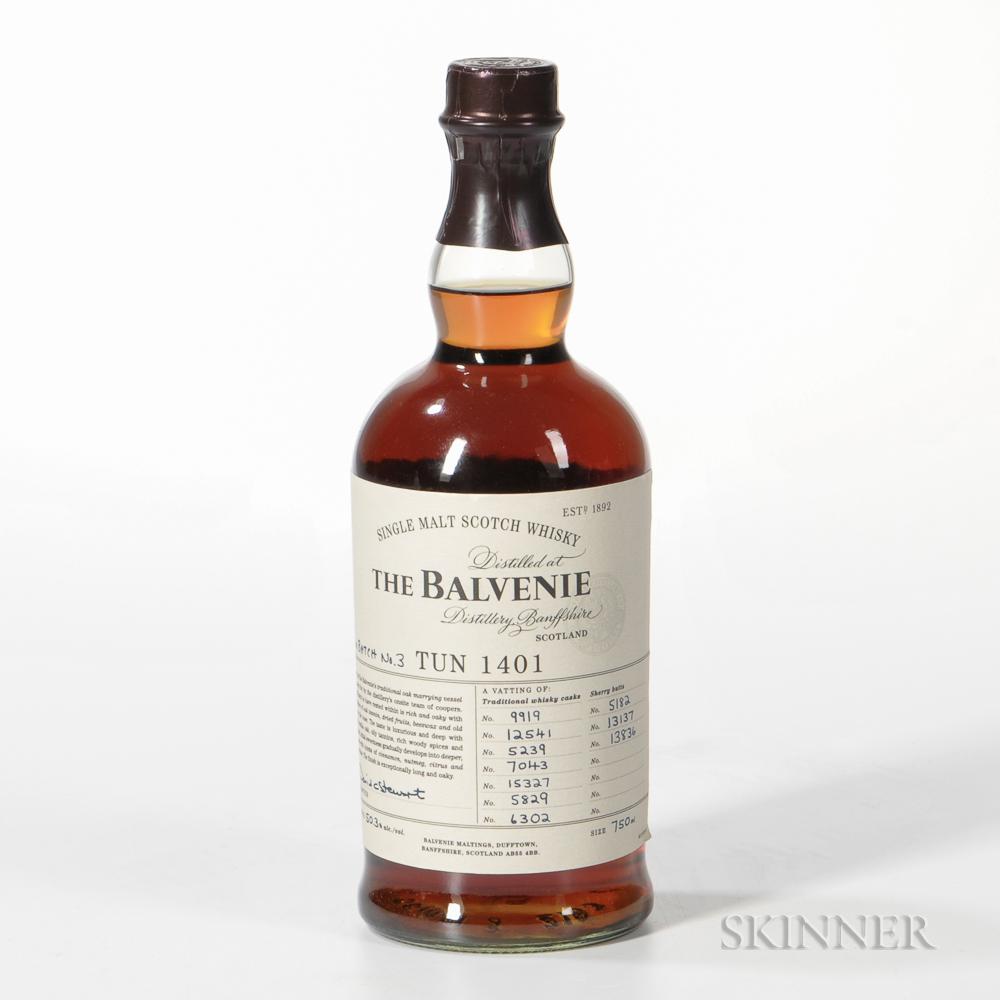Balvenie TUN 1409 Batch #3, 1 750ml bottle