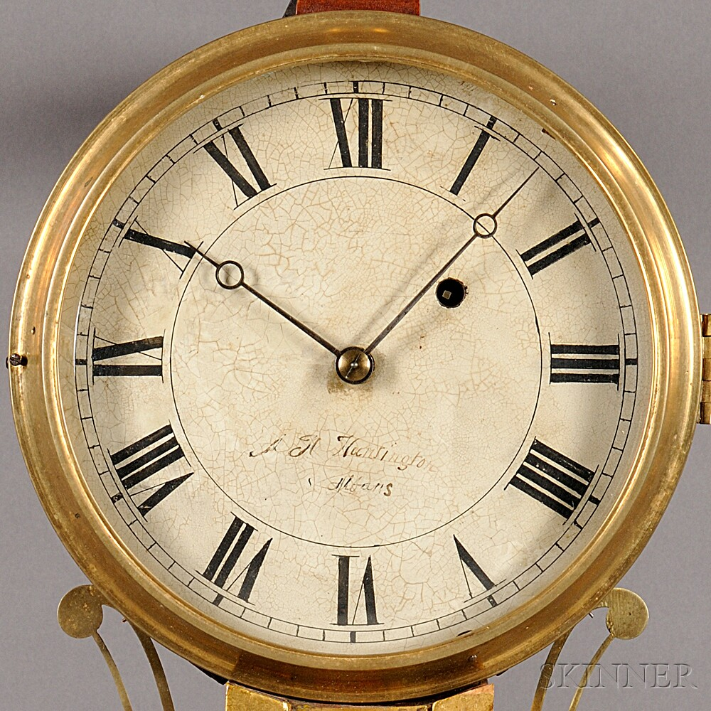 Alfred H. Huntington Patent Timepiece or