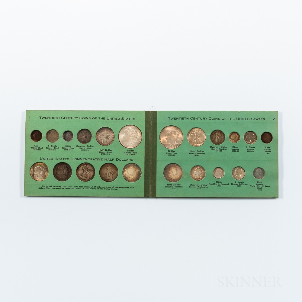 20th Century Coins of the United States Type Set