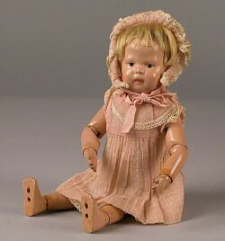 Small Schoenhut Toddler Doll