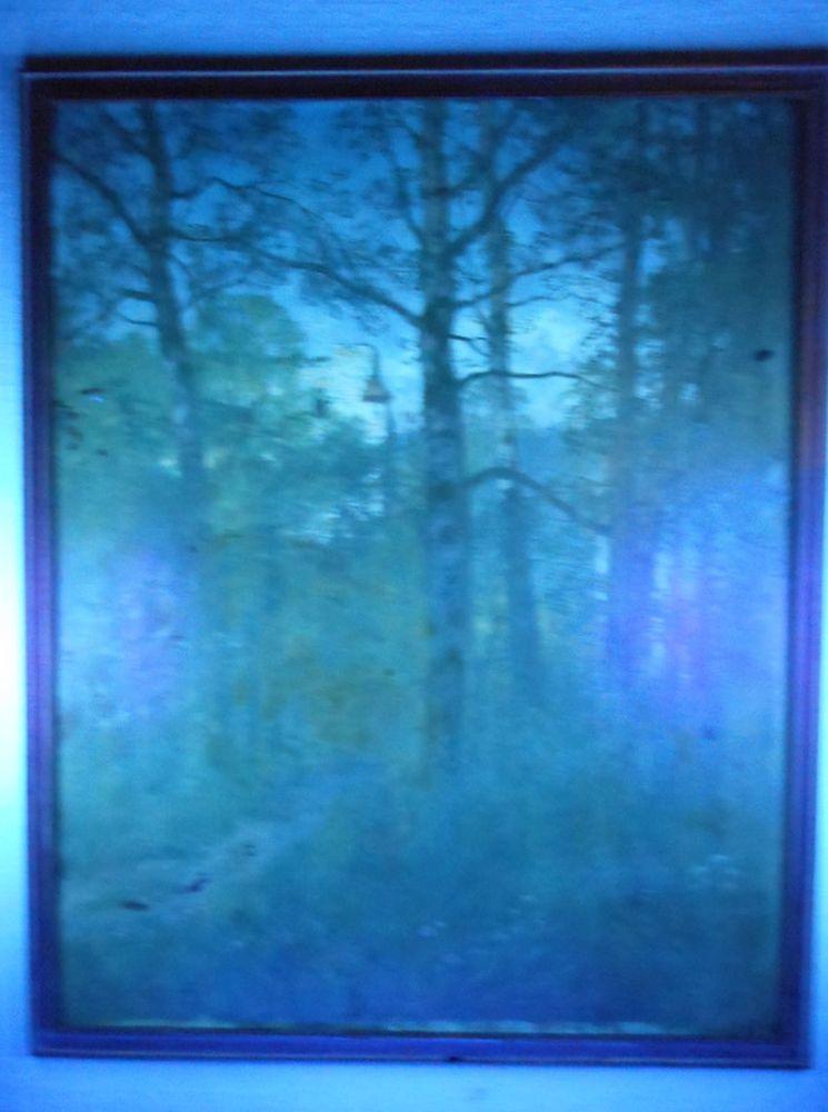 Hugo Darnaut (Austrian, 1850-1937)      Forest Scene with Deer