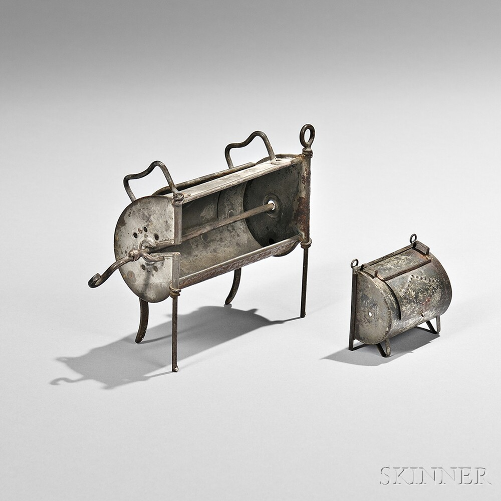 Tin Roaster Oven and Miniature Roaster Oven