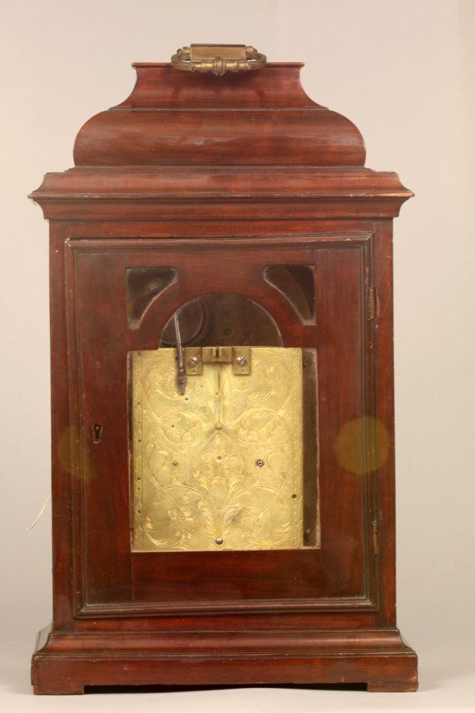 James Burke Mahogany Bracket Clock