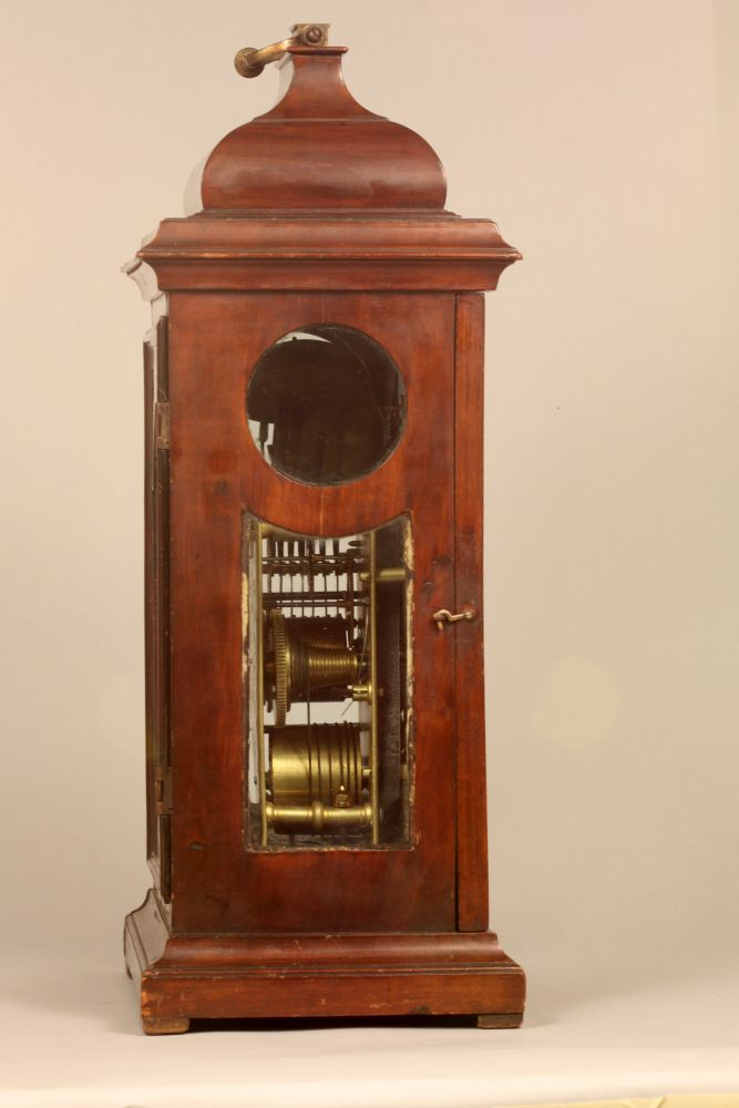 James Burke Mahogany Bracket Clock