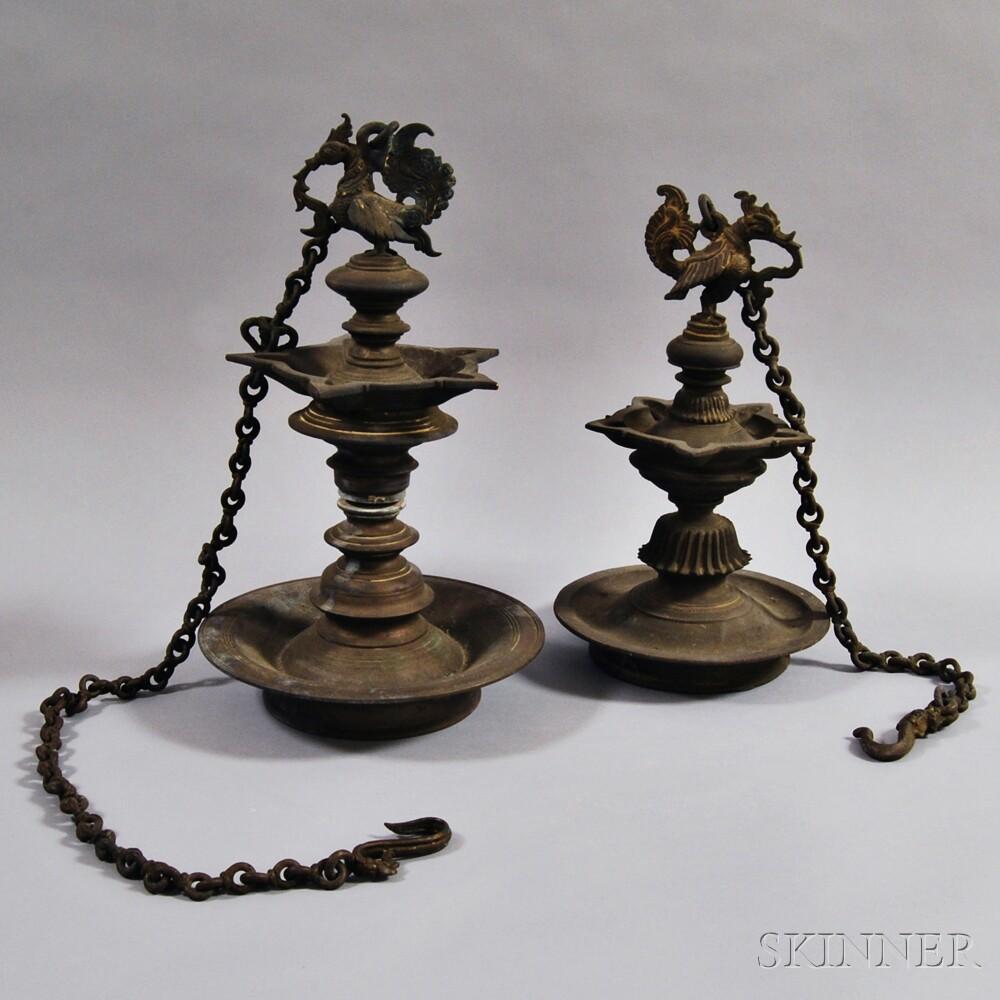 Pair of Hanging Lamps
