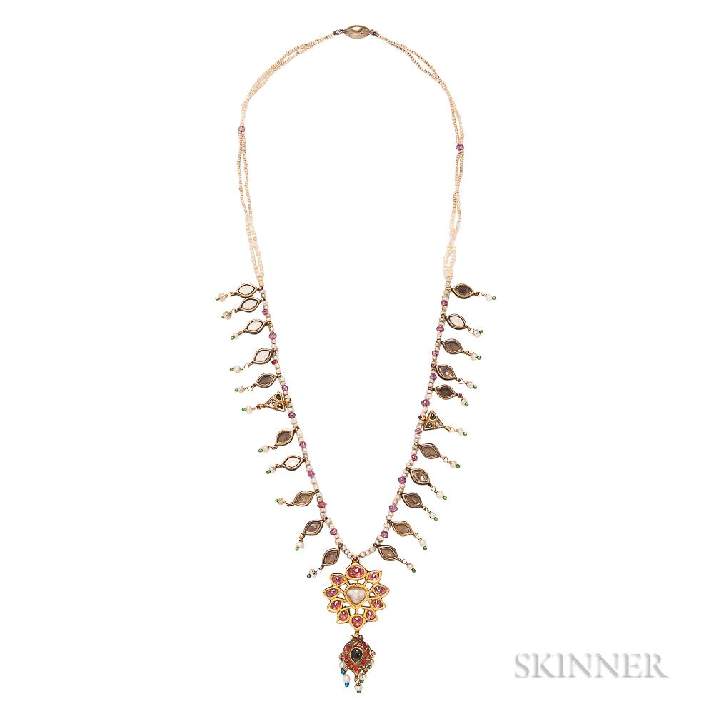 Gem-set Necklace