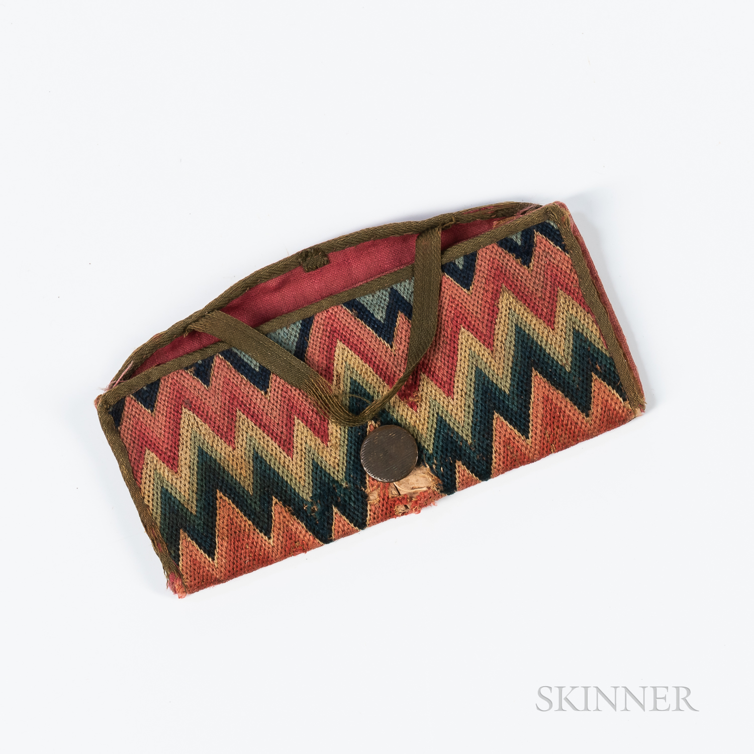 Small Flame-stitch Wallet