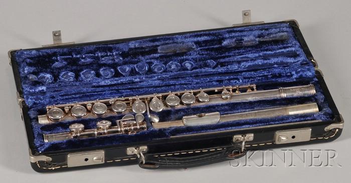 American Flute, Gemeinhardt, Elkhardt, c. 1970