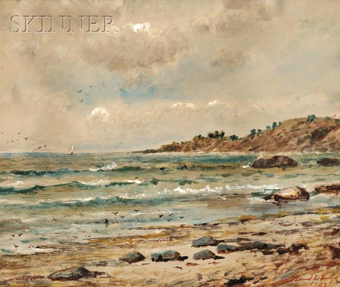 Edmund Darch Lewis (American, 1835-1910)      Coastal View