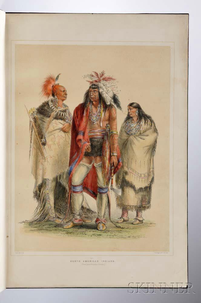 Catlin, George (1796-1873) [Catlin's North American Indian Portfolio.]
