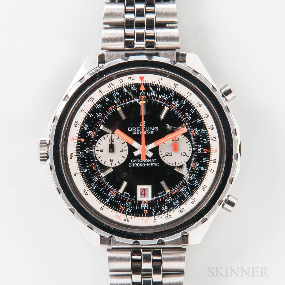"Breitling Chronomat ""Chrono-Matic"" Reference 1808 Wristwatch"