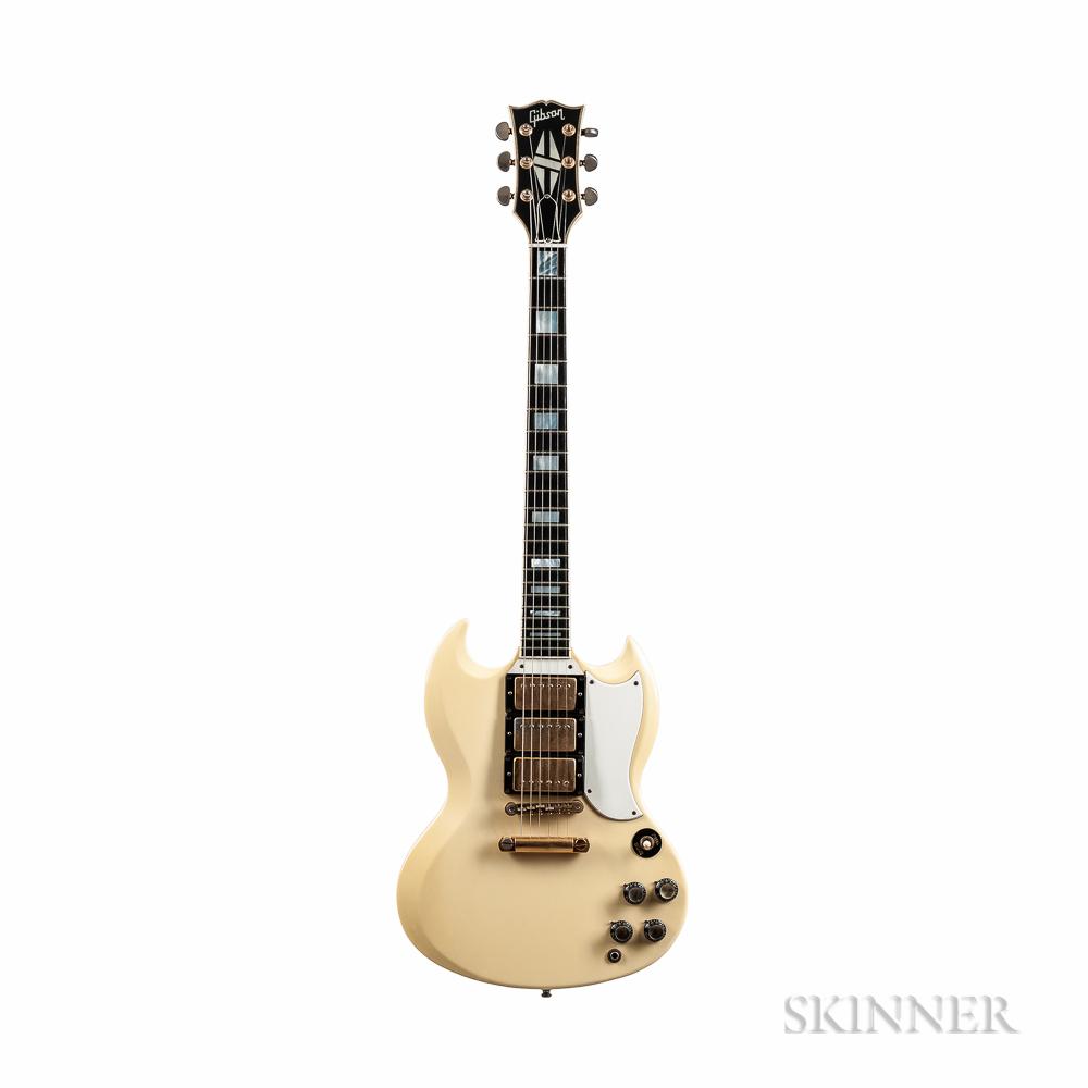 Gibson SG Les Paul '62 Custom Reissue Electric Guitar, 1987