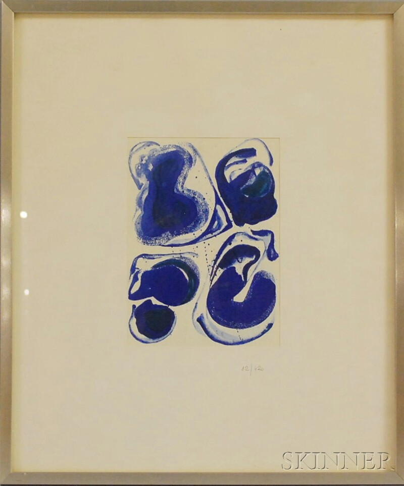 After Sam Francis (American, 1923-1994)      Abstract