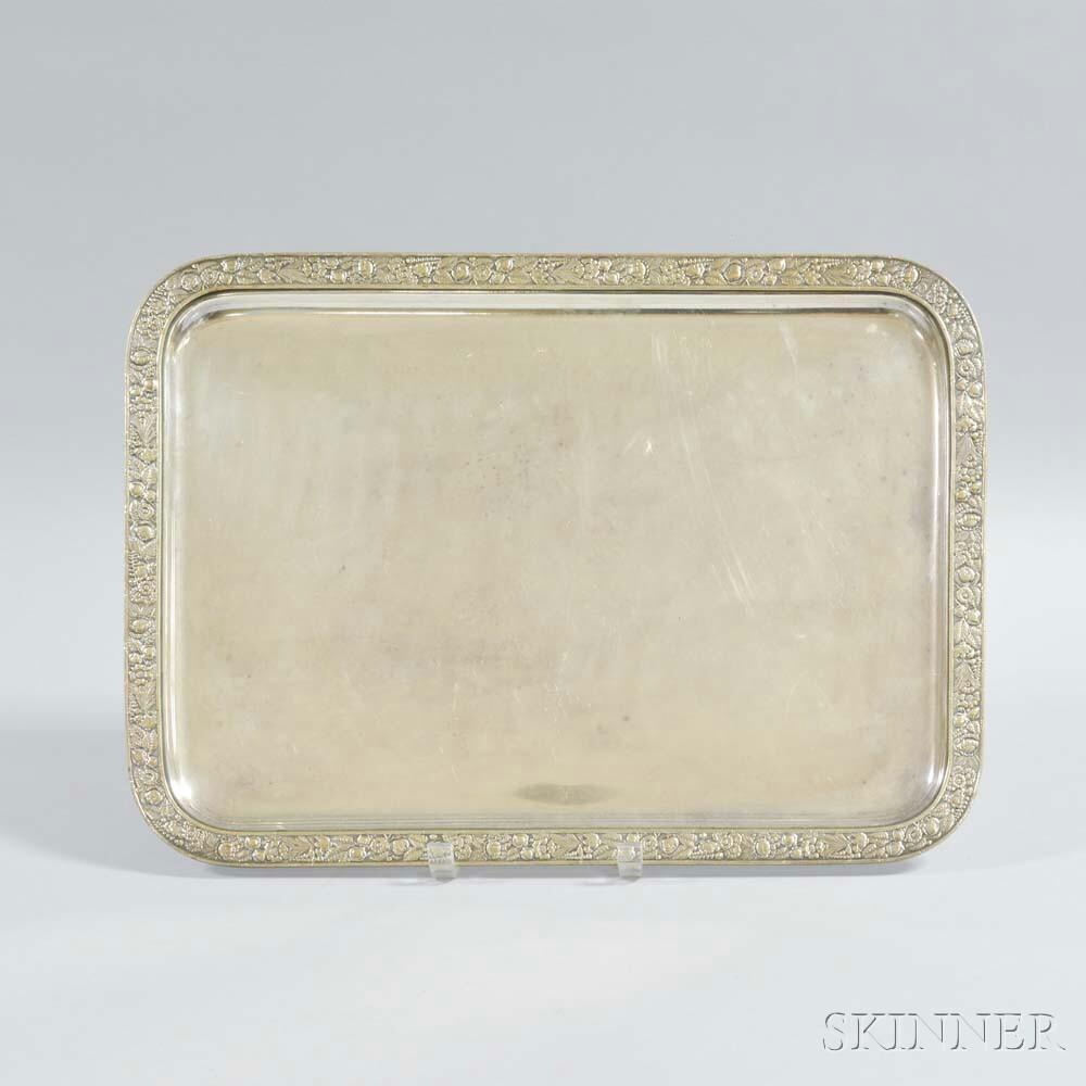 Gorham Silver-plated Rectangular Tray