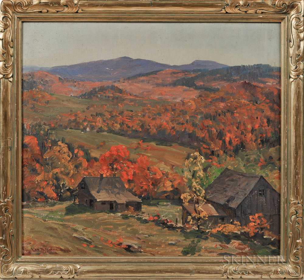 Leo B. Blake (American, 1887-1976)      Autumn in the Berkshires