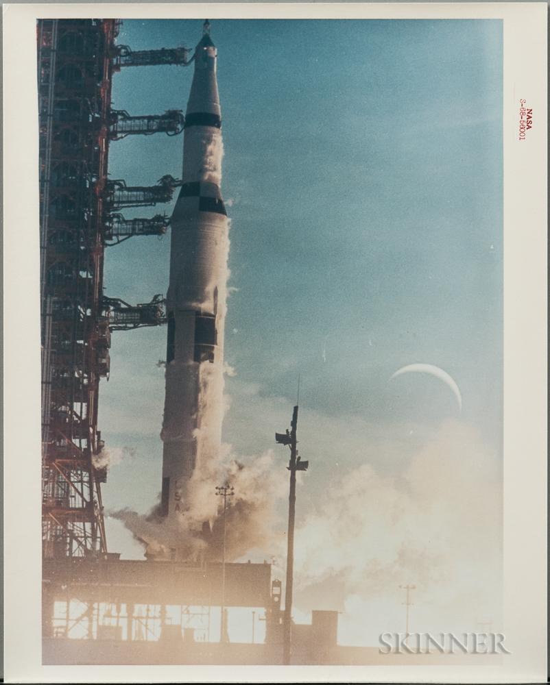 Apollo 8, Liftoff, December 21, 1968.