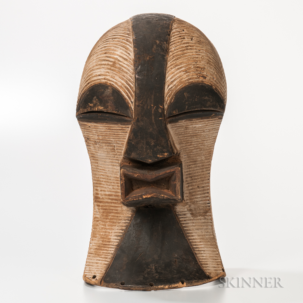 Kifwebe-style Carved Mask