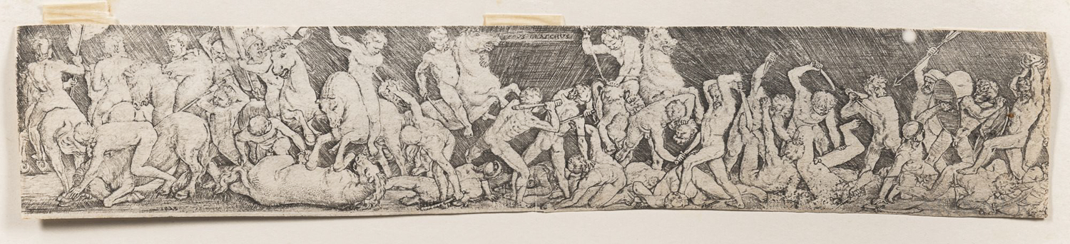 By or After Barthel Beham (German, 1502-1540)      Two Versions of Titus Graccus