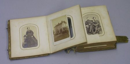 19th Century Portrait Photograph Album