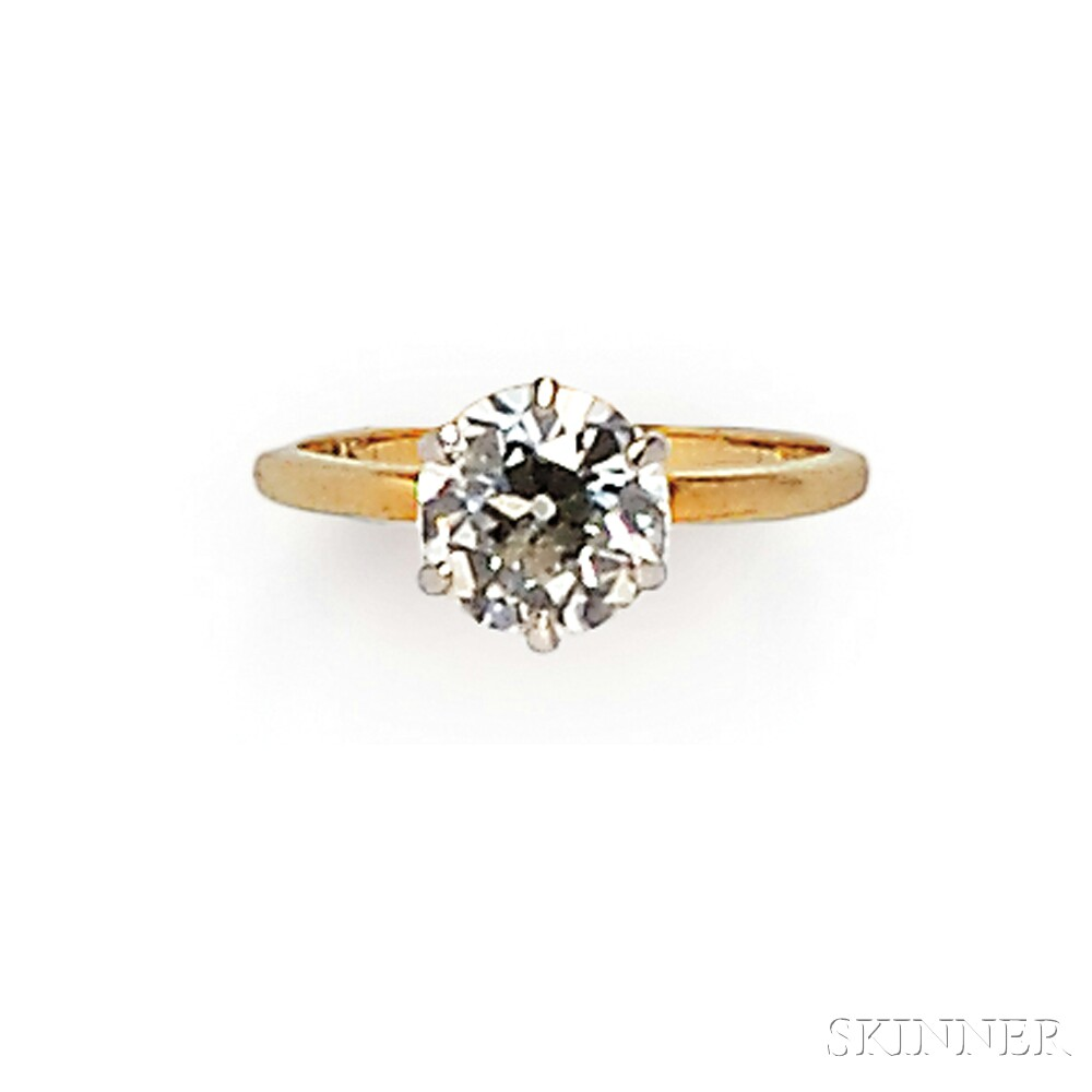 Diamond Solitaire, Shreve, Crump & Low