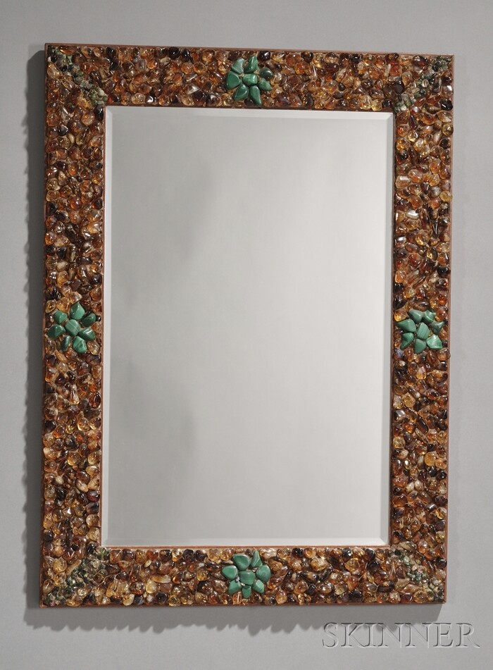 Miriam Rogers Framed Mirror