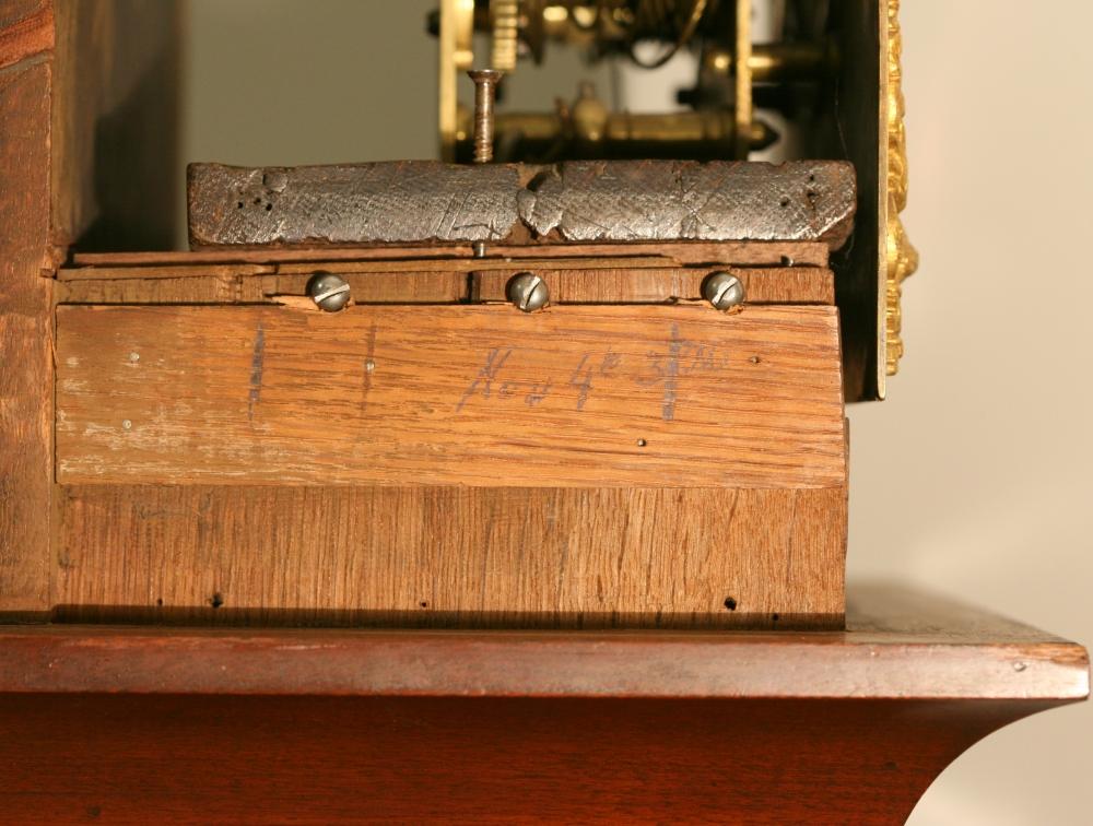 Joseph Norris Thirty-day Longcase Clock with Alarm