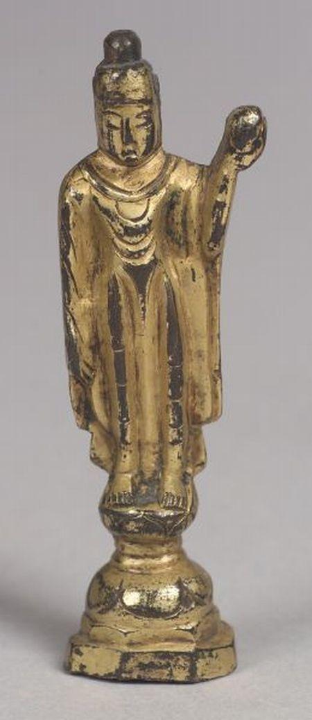 Gilt-bronze Buddha