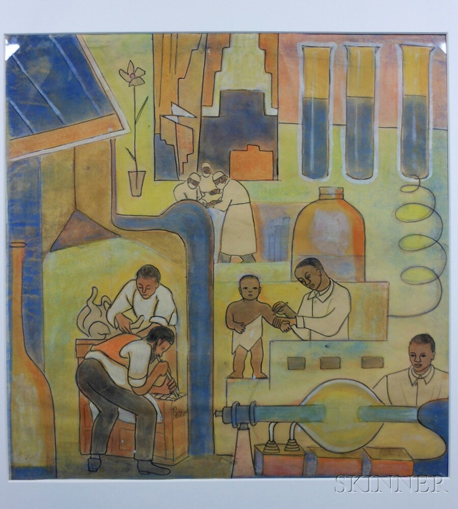 Thelma johnson streat african american 1911 1959 for African american mural