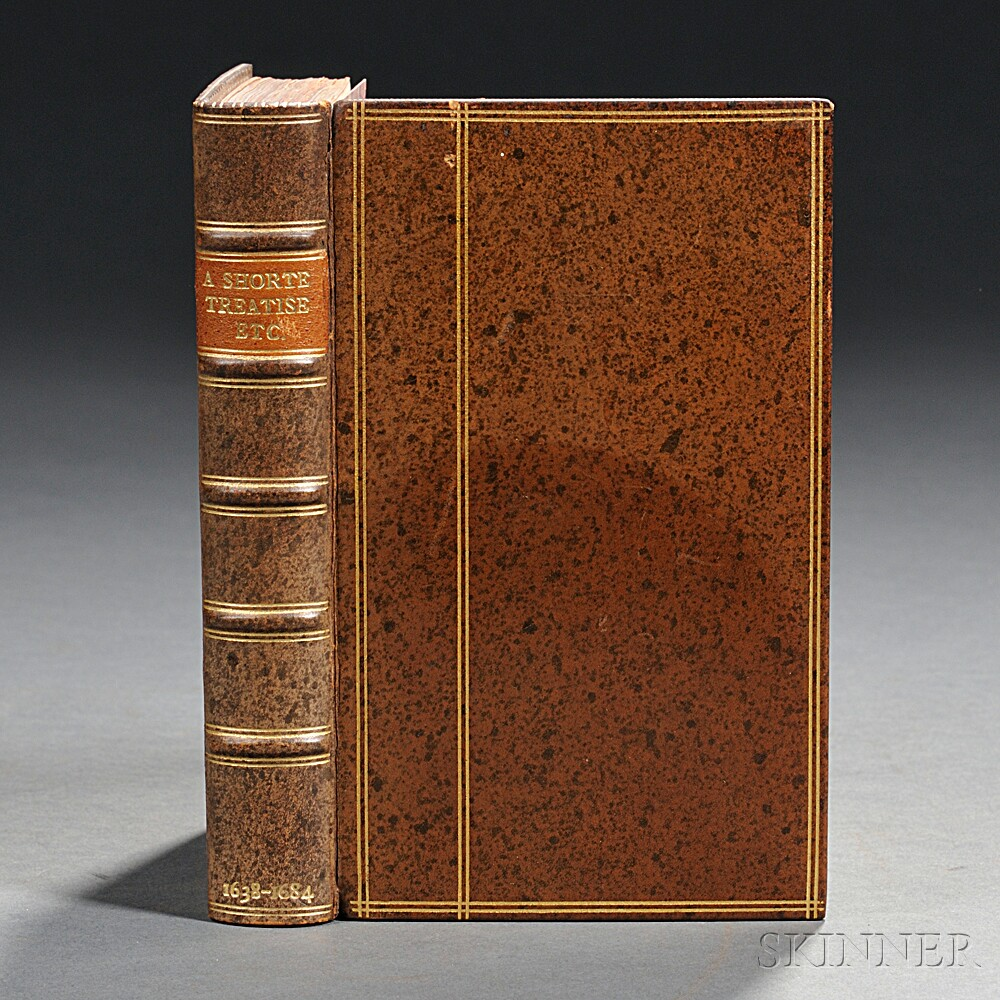 Sammelband of Seven Rare English Erotic and Controversial Works, c. 1638-1691.