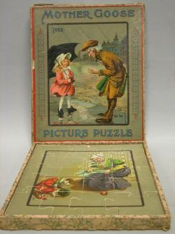 """Ives """"Mother Goose Picture Puzzle,"""""""