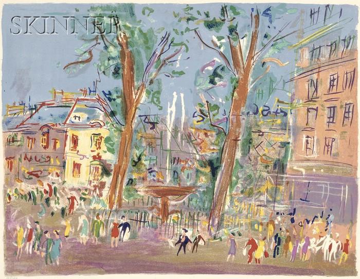 Jean Dufy (French, 1888-1964)      Après midi dans le parc