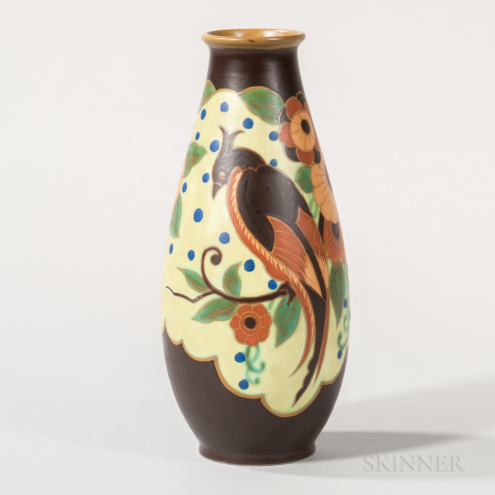 Boch Freres Keramis Vase