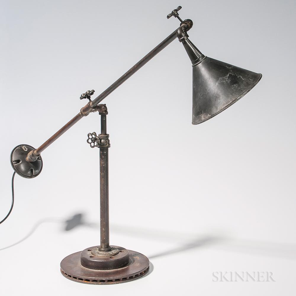 Adjustable Steampunk Lamp