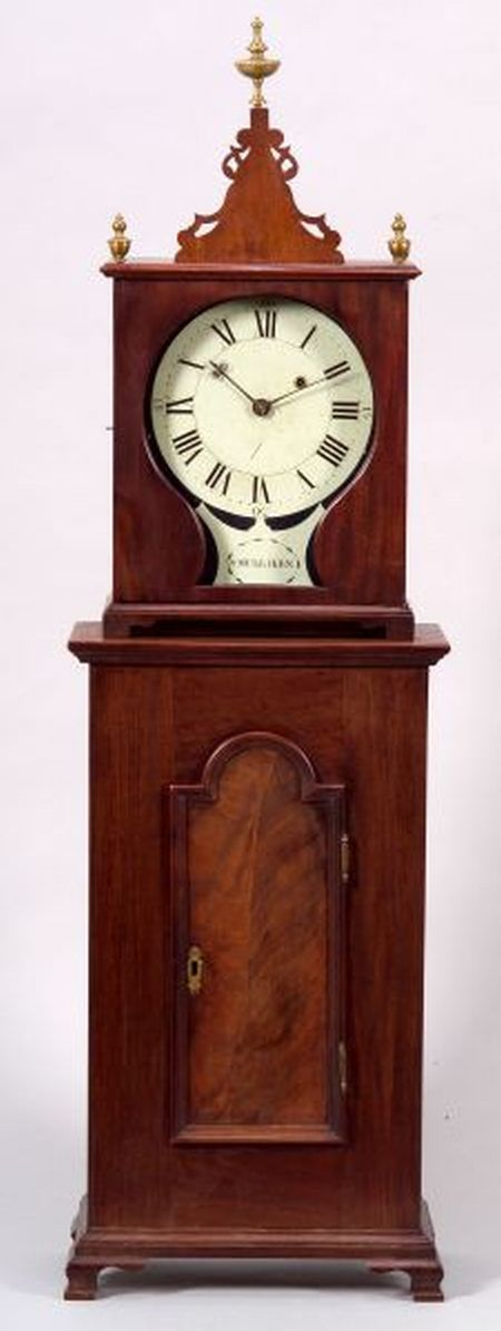 Mahogany Shelf Timepiece