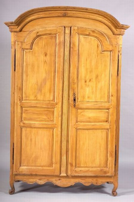 French Pine Armoire