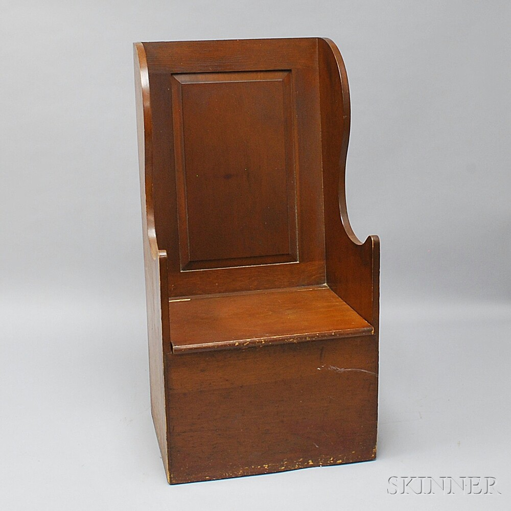 Wallace Nutting Pine Wing Chair