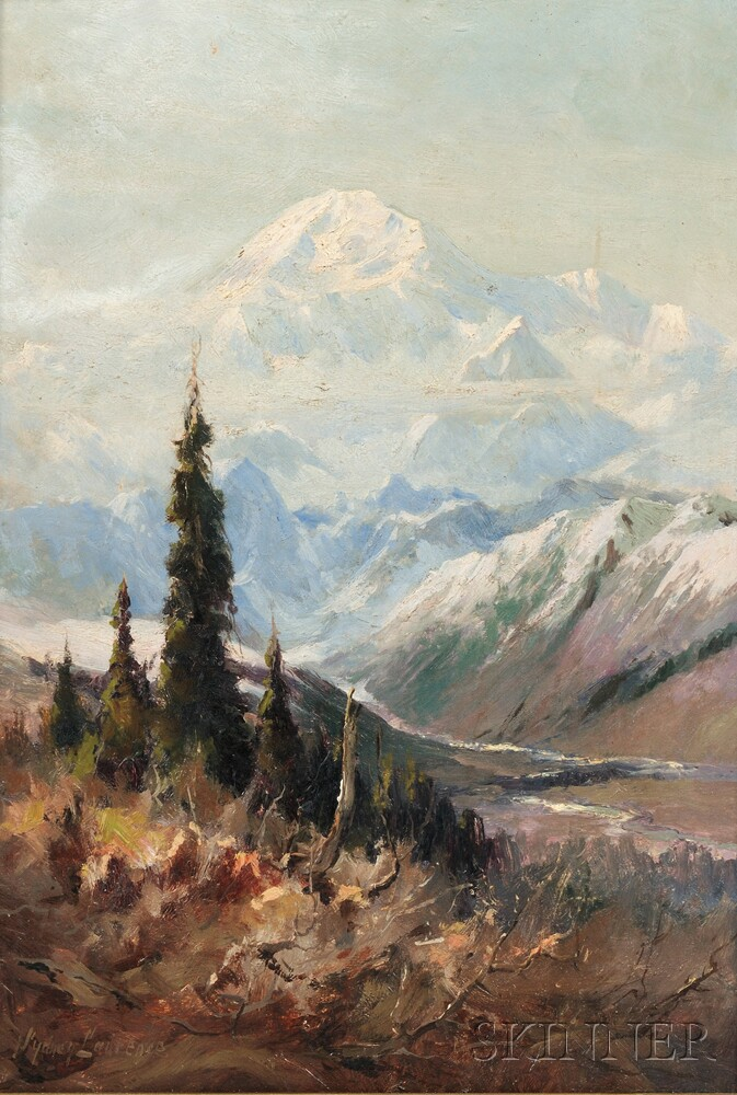 Sydney Laurence (American, 1865-1940)      The Top of the Continent