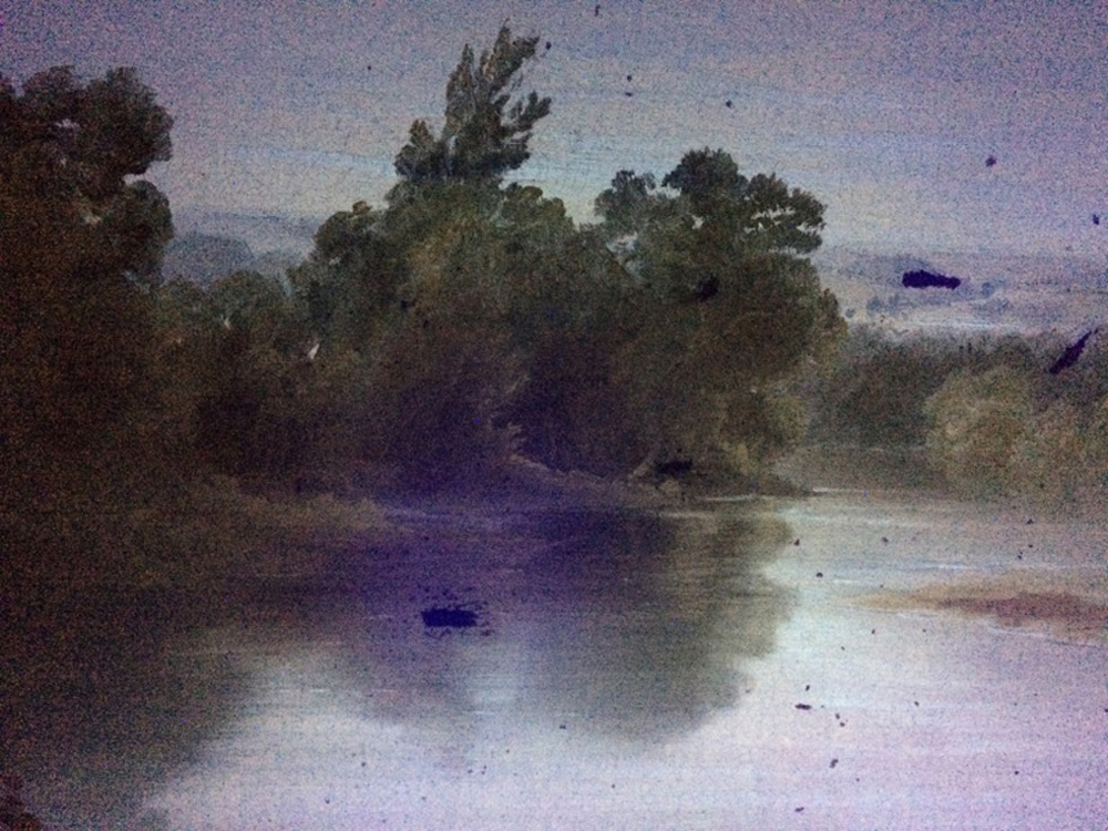 John La Farge (American, 1835-1910)      On the Bayou Teche, Louisiana