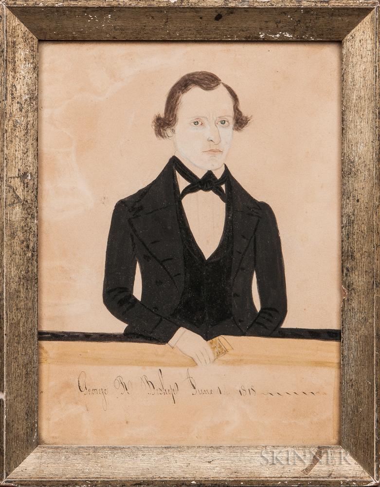 Jane A. Davis (Connecticut/Rhode Island, 1821-1855)      George R. Bishop June 1st, 1818