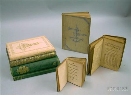 Seven 18th-20th Century Titles Related to Marriage, Etiquette, and Behavior