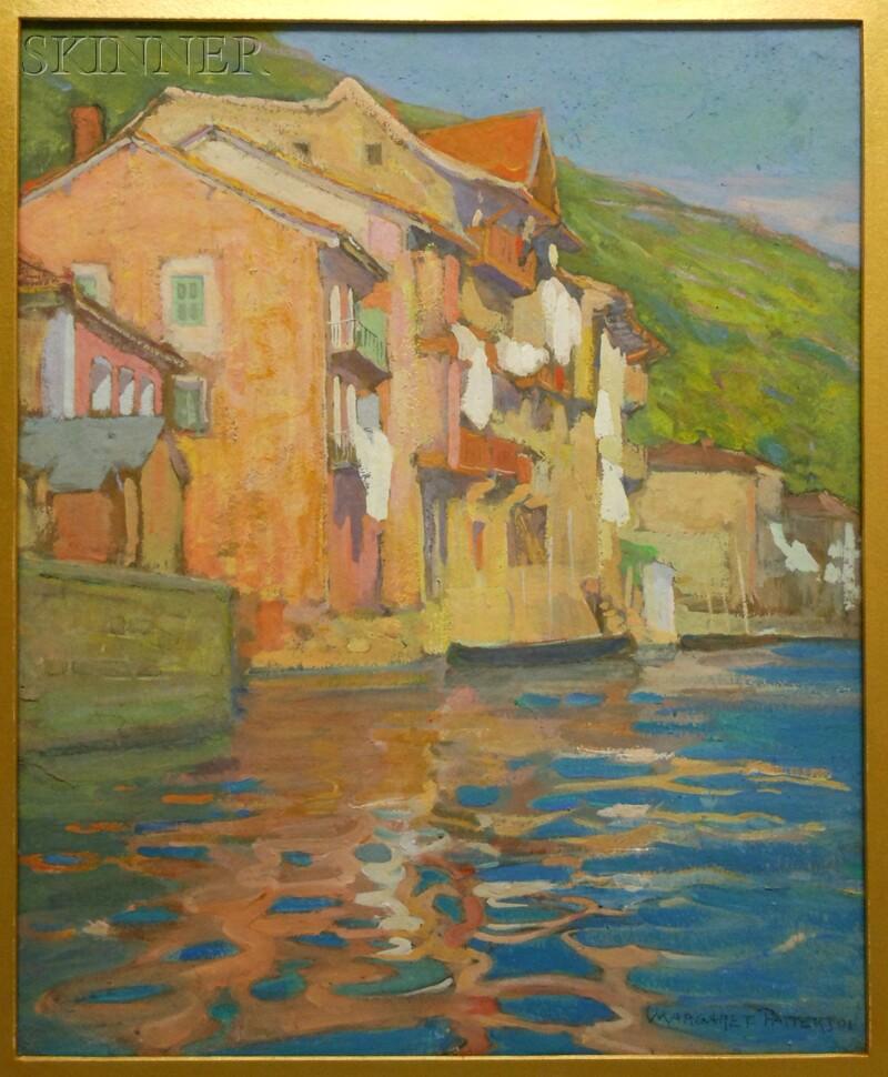Margaret Jordan Patterson (American, 1867-1950)      Along the River